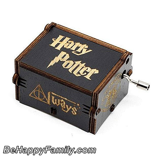 Caja de música de Harry Potter.
