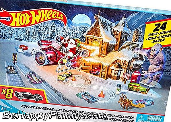 Advent naptár 2018 Hot Wheels