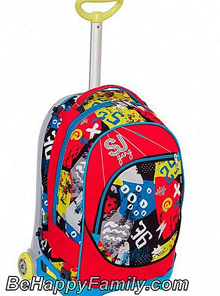 Trolley-Rucksack JACK JUNIOR SJ - HIGH TECH