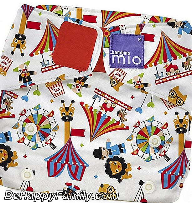 Bambino Mio, Myosolo Lavable Diaper all-in-one, Circus