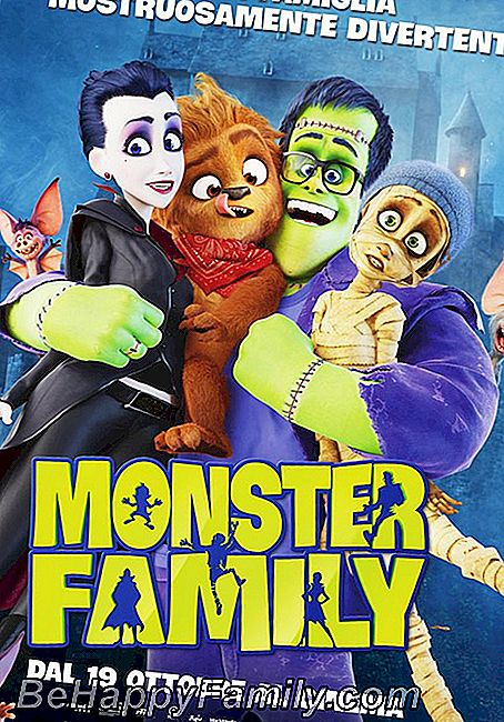 Cartel de la película Monster Family