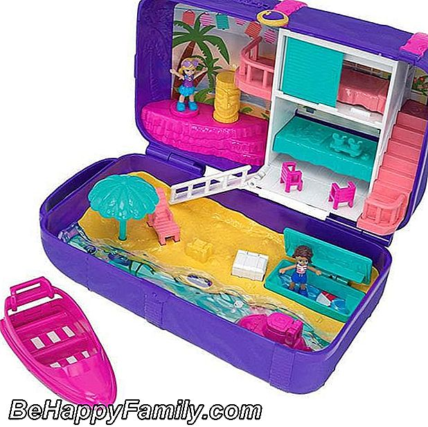 Kistje van de Summer Polly Pocket