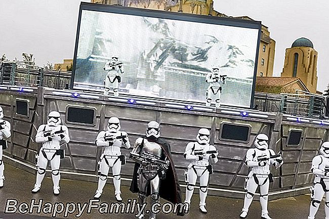 Parade star wars Disneyland paris