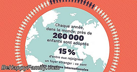 Adoptions internationales, infographie sur la situation italienne