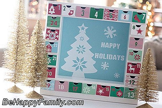 Do-it-yourself Advent Calendar: kisah seorang ibu