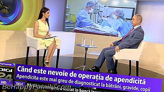 Apendicita: simptome, diagnostic și tratament